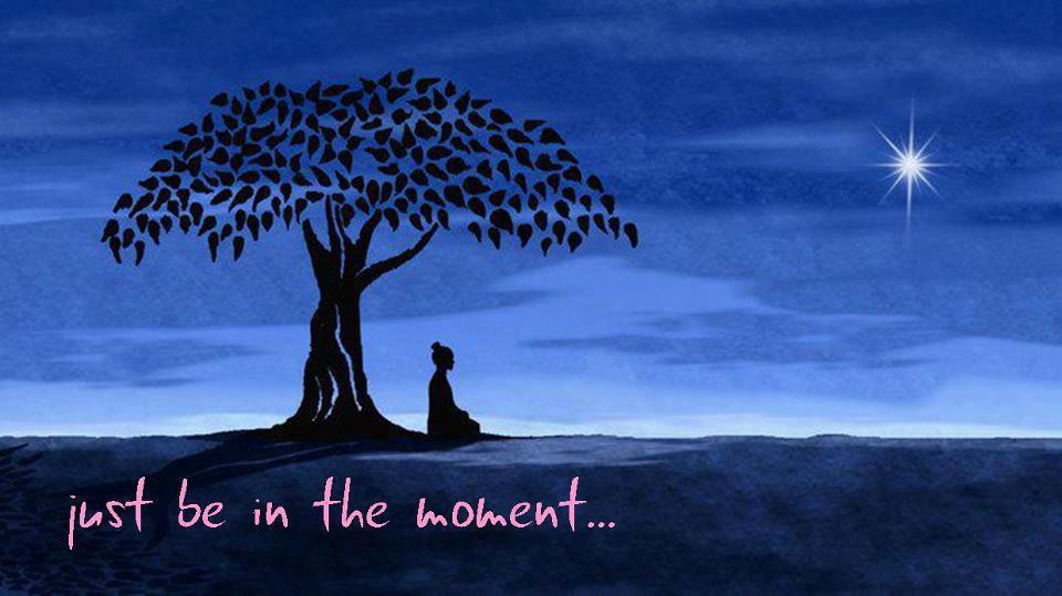 leef in het moment is belangrijk in mindfulness