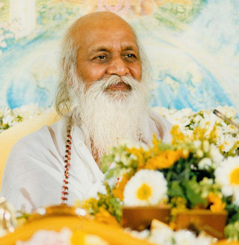 maharishi, oprichter van transcendente meditatie