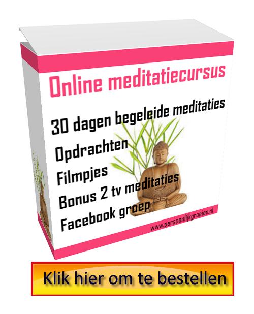 alternatief voor meditatie weekend, online cursus
